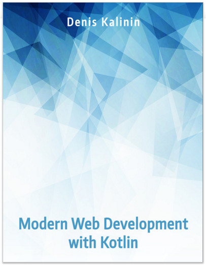 Modern Web Development with Kotlin cover